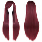 Women Long Straight Fancy Dress Wigs Anime Cosplay Costume Girls Full Wig Party
