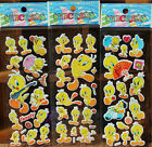 Lot Tweety Bird 3D Cartoon Game Stickers Kids Reward Sticker Party Gifts J27