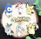 Lot Mixed Pokemon Pikachu Metal Charms Pendants Jewelry Making Party Favors N306
