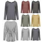 Womens Ladies Italian Wash Plus Size Jumper Oversize Warm Big Top 12-18 One size