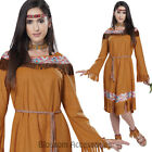 CA54 Classic Pocahontas Indian Maiden Dress Up Woman Wild West Western Costume