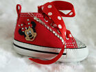 Gorgeous Baby Girls Reborn Red Minnie Converse Boots Pram Crib Shoe UK 1 2 3 4