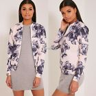 Sexy Women's Ladies Casual Floral Tops Coat Rivet Blazer Jacket Slim Short Suit