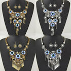 1 Set Fashion Women's Pendant Bib Statement Earrings Necklace Jewelry Set
