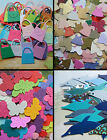 CRAFT ROOM CLEAROUT SALE 30 50 100 X PIECE KITS CARD MAKING DIE CUTS - SALE