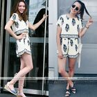 White Lady Summer Playsuit Bodycon Party Jumpsuit Romper Trousers Clubwear New