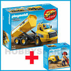 NEW PLAYMOBIL 5468 INDUSTRIAL CONSTRUCTION DUMP TRUCK + BONUS 5472 JACK HAMMER