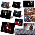 "Painted Heroes character Hard Case Cover For Macbook Pro Air 11 13""15"" Retina 12"