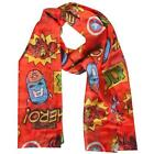 Marvel Comics - Classic Logo Soft Lightweight Polyester Scarf - New & Official