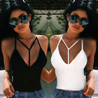 Summer Vest Top Sleeveless Ladies Blouse Casual Tank Tops T Shirt Size S-XL LAUS