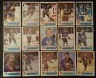 1977-78 OPC PITTSBURGH PENGUINS Select from LIST NHL HOCKEY CARDS O-PEE-CHEE