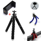 Mini Octopus Tripod Camera Support + Stand Clip Bracket Holder Adapter For Phone