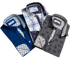 MEN`S NEW US POLO ASSN LONG SLEEVE POLO SHIRT SIZE S-M-L-XL SLIM FIT TOP