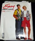 EASY Stitch 'n Save 7469 Vest Tee Shorts Size A S-M-L