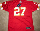 KANSAS CITY CHIEFS LARRY JOHNSON NFL JERSEY 27 AUTHENTIC 48 OR 50 NEW PSU