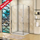 Frameless Pivot Shower Enclosure Glass Door and Tray Side Panel Screen Cubicle