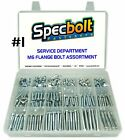 SPECBOLT CUSTOMIZABLE M6 REDUCED HEAD FLANGE BOLT KIT MASTER SERVICE PROVIDERS
