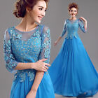 LF330 New Fashion Formal Wedding Prom Party Bridesmaid Evening Ball Gown Dress