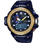 Casio Mens G-Shock Gulfmaster Blue Triple Sensor Solar Powered Watch RRP £480