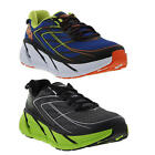 Hoka One One Clifton 3 Mens Athletic Road Running Shoes Grey Blue Size UK 8-12