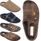 New Mens Warm Comfort Winter Slip On Leisure Indoor Mules Slippers Shoes Sizes