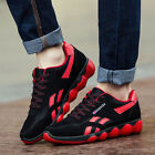 NEW MEN FASHION SNEAKERS LACE UP BREATHABLE SPORTS RUNNING TRAINER SHOES CASUAL
