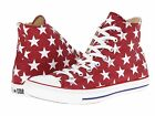 Converse Chuck Taylor All Star Print Hi Top Jester Red White Shoe 8 9 10 11 12