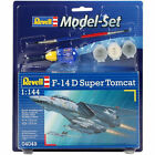 REVELL F-14D Super Tomcat 64049 Model Kit with Paints 1:144