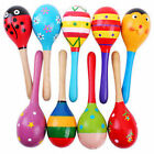 New Baby Kids Sound Music Gift Toddler Rattle Musical Wooden Intelligent Toys Q