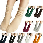 1 Pair Women Lady Comfortable Soft Cotton Ankle Heap Socks Casual Solid Hosiery