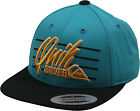 Quiksilver Youth Champagne Snapback Baseball Hat Teal/Black