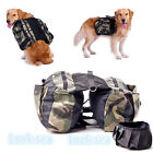 Lovely Pet Dog Back Pack Camping Hiking Outdoor Travel Backpack Saddle Bag Hot