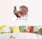 3D Pretty Rooster 12 Wall Stickers Vinyl Murals Wall Print Decal Art AJ STORE