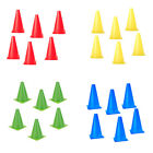 """6 x 6.7"""" Traffic Agility Cones 7 Colors Markers Safety Soccer Football Baseball"""