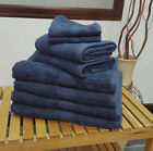 KLiving Navy 500 GSM Towels (Face, Hand, Bath Towel and Bath Sheet Available)