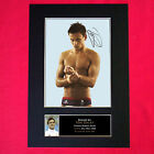 TOM DALEY Mounted Signed Photo Reproduction Autograph Print A4 265