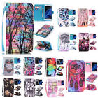 For iPhone Owl Flower Dreamcatcher Flip Case Strap ID Wallet Stand Leather Cover