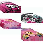 nEw GIRLS THEMED BED COMFORTER - Hello Kitty Barbie LaLaLoopsy Blanket Cover