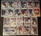 1990-91 UPPER DECK BUFFALO SABRES Select from LIST NHL HOCKEY CARDS