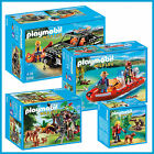 PLAYMOBIL WILD LIFE COMBO TRUCK BOAT CAMERA CREW & MORE 5558 5559 5561 5562