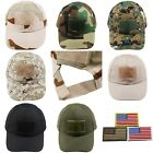 Operator Tactical Baseball Hat Cap Military Sport Hunting Fishing USA Flag Patch