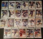 1990-91 UPPER DECK WINNIPEG JETS Select from LIST NHL HOCKEY CARDS