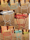 Vintage Retro 1950´s Style Funky Steel Wire Chairs & Tables, Home or Garden