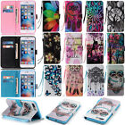 Leather Wallet Flip Phone Case For Apple iPhone /Samsung Galaxy / LG  / Huawei