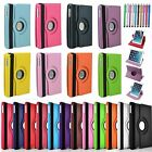 360 Rotating Flip PU Leather Back Case Stand Cover for Apple iPad Mini 1 2 3