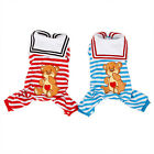 Pet Clothes Summer Puppy Dog Cat Clothes Pet Cute Vest  Apparel  Cartoon Pattern