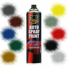 x22 Car Spray Paint Aerosol Auto Primer Matt Gloss Clear Lacquer DIY 200-250ml