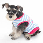 Summer Cute Pet Clothes Small Dog Apparel Puppy Vest Dress Skirt Costumes