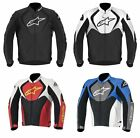 Alpinestars Mens Jaws Leather Jacket