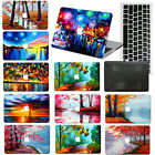 "oil Art Painting Hard Rubberized Case For Macbook Pro Air 11 13""15""Retina 12+KB"